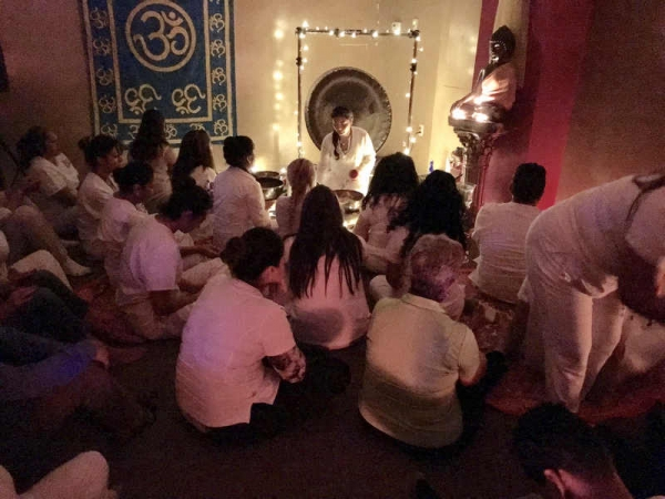 Group Sound Healing Meditation for Reiki students